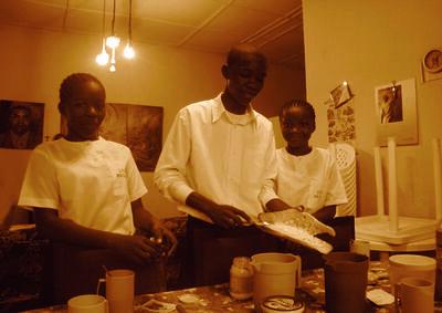 Moridja Kitenge, 'La maison des pauvres 2', ca. 2010