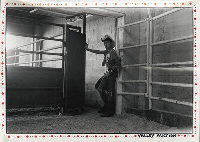 Danny Lyon, 'Valley Auction', 1975