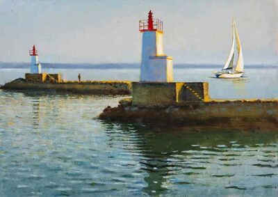 Clive McCartney, 'Silent Departure, Brittany', 2019