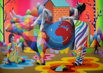 Okuda San Miguel, 'World Metamorphosis', 2020