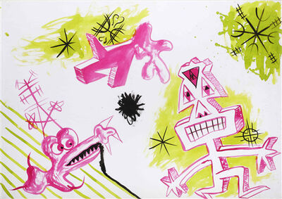 Kenny Scharf, 'Rite + Rong ', 1983
