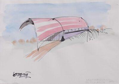 Ettore Sottsass, 'Drawing', 1991