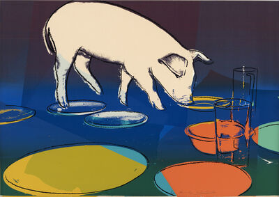 Andy Warhol, 'Fiesta Pig', 1979