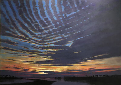 Billy Solitario, 'Mackerel Clouds Last Light'