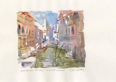 Craig Lueck, 'Walkover Bridge - Small Canal', 2003