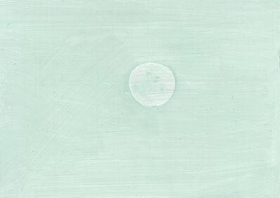 Lois Dodd, 'Moon and Blue Sky', 2012