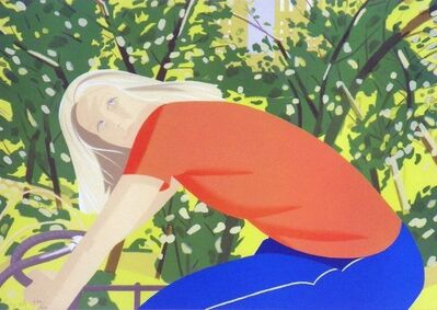 Alex Katz, 'Bicycle Rider', 1983