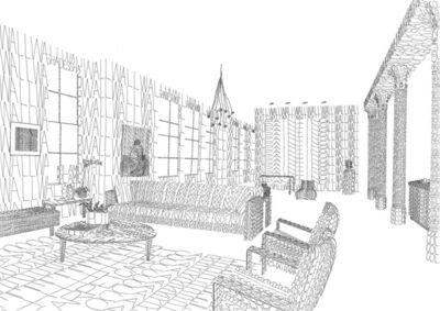 Thomas Broomé, 'Modernmantra (Livingroom)', 2005