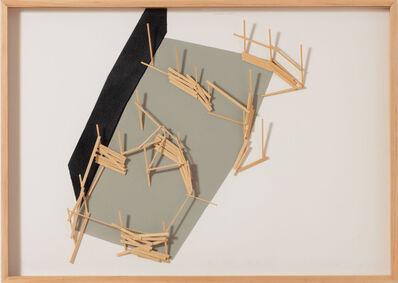 Tadashi Kawamata, 'Site Plan 4', 1992