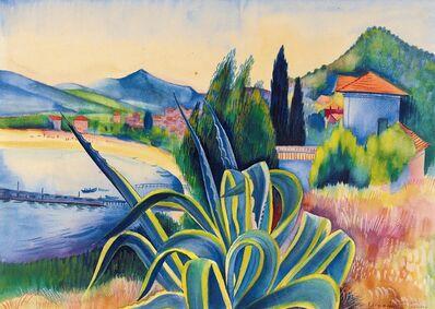 Conrad Felixmuller, 'Le Lavandon', 1926