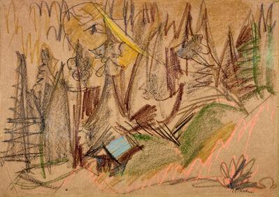 Ernst Ludwig Kirchner, 'Bergwald III', ca. 1918