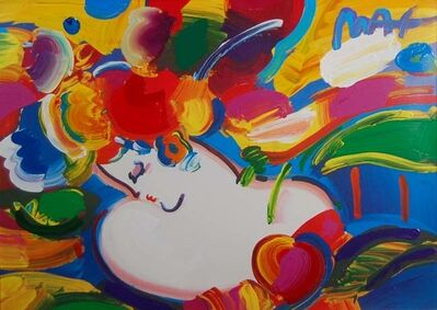 Peter Max, 'Flower Blossom Lady', 2000