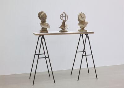 William Kentridge, 'Set of 3 Roman Heads', 2014