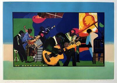 Romare Bearden, 'Jamming at the Savoy', 1980