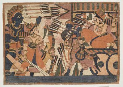 'Mahabharata, battle scene', c. 1850