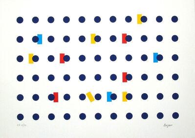 Yaacov Agam, 'Homage to Federico Garcia Lorca I', 2001