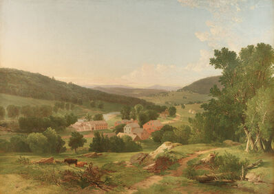William M. Hart, 'Early Landscape', 1849