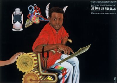 Chéri Samba, 'Je Suis un Rebelle', 1999