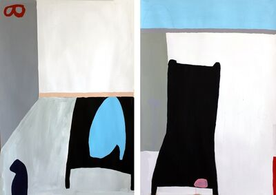 Mai-Britt Wolthers, 'Untitled  25 and 26 Diptych', 2014