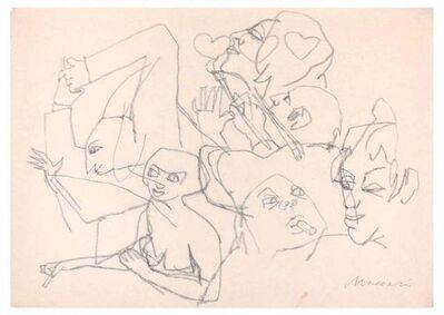 Mino Maccari, 'Party', 1970s