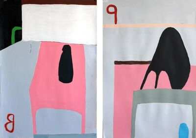 Mai-Britt Wolthers, 'Untitled 23 and 24 Diptych', 2014