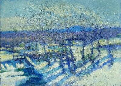 Don Wynn, 'River in Winter', 2021
