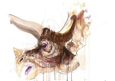 Dave White, 'Triceratops V', 2020