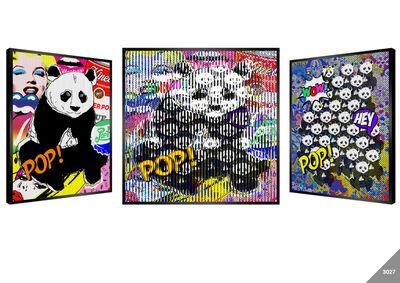 Patrick Rubinstein, 'Panda Pop', 2020