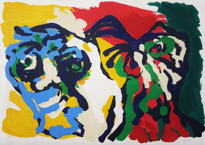 Karel Appel, 'Two Flowering Heads', 1976