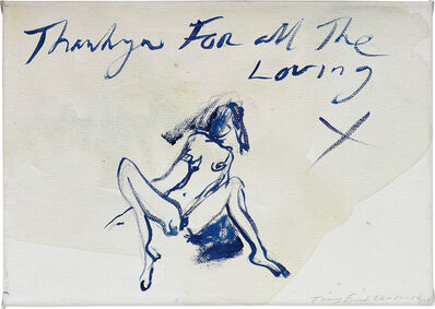 Tracey Emin, 'Thank you for all the loving', 2010