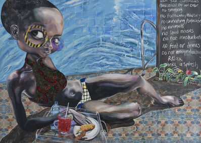 Ndidi Emefiele, 'Splash', 2017