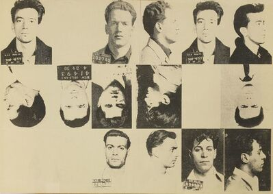 Andy Warhol, 'Dossier No 2357 - The Thirteen Most Wanted Men', 1967