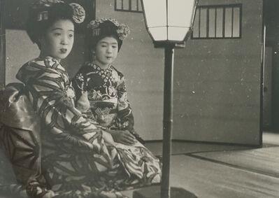 Asano Kiichi, 'At the restaurant Ikenoryo in Maruyama Park, March 1938.', 1938
