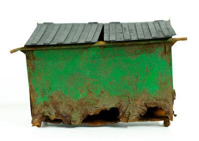 Drew Leshko, 'Green Dumpster', 2019