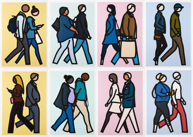Julian Opie, 'New York Couple', 2019