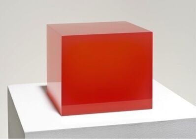 Peter Alexander, 'Red cube ', 2015