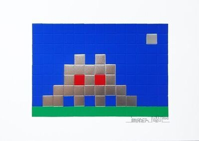 Invader, 'Home (Earth)', 2010