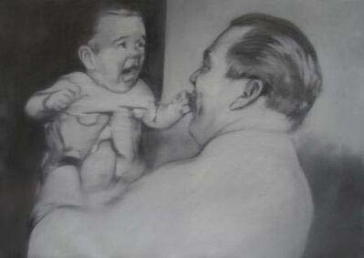 Jose Toirac, 'Fulgencio Batista and his son, from the Alma Pater series', 2011