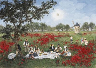Fabienne Delacroix, 'Printemps en Provence', 2020