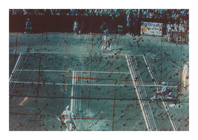 Howardena Pindell, 'Video Drawings: Tennis', 1975