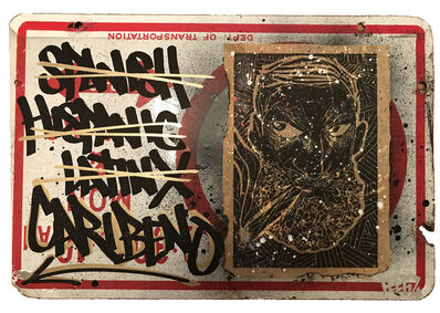 Carlos Jesus Martinez-Dominguez, 'Fuck the N', 2012-2017