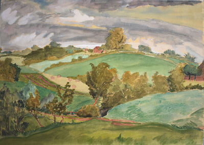 Erich Heckel, 'Hills in Angeln | Hügel in Angeln', 1941