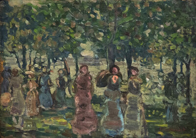 Maurice Brazil Prendergast, 'Sunday in the Park', 1910-1913