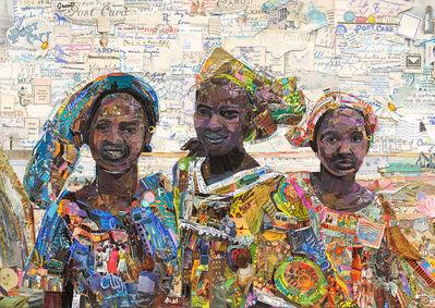 Vik Muniz, 'Postcards from Nowhere: Fulani Women, Mopti, Mali, after Vik Muniz', 2014