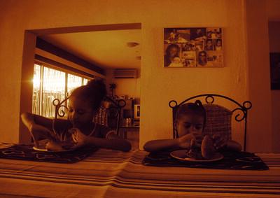 Moridja Kitenge, 'La maison des pauvres 4', ca. 2010