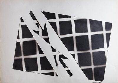 Franco Angeli, 'Untitle - Converging arrows', 1968