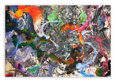 Nikolaos Schizas, 'Koi Fish (Abstract painting)', 2021