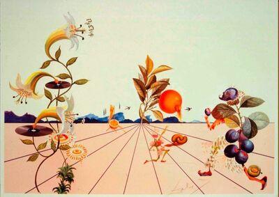 Salvador Dalí, 'Flordali I', 2018