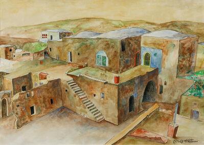 Sliman Mansour, 'RAS KARKAR VILLAGE', 1981