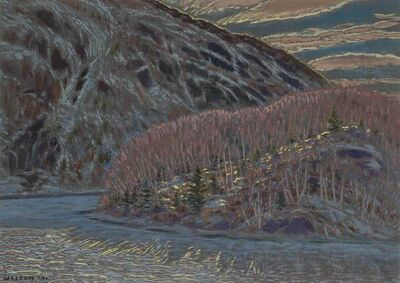 Harold Weston, 'Chapelle Pond', 1941